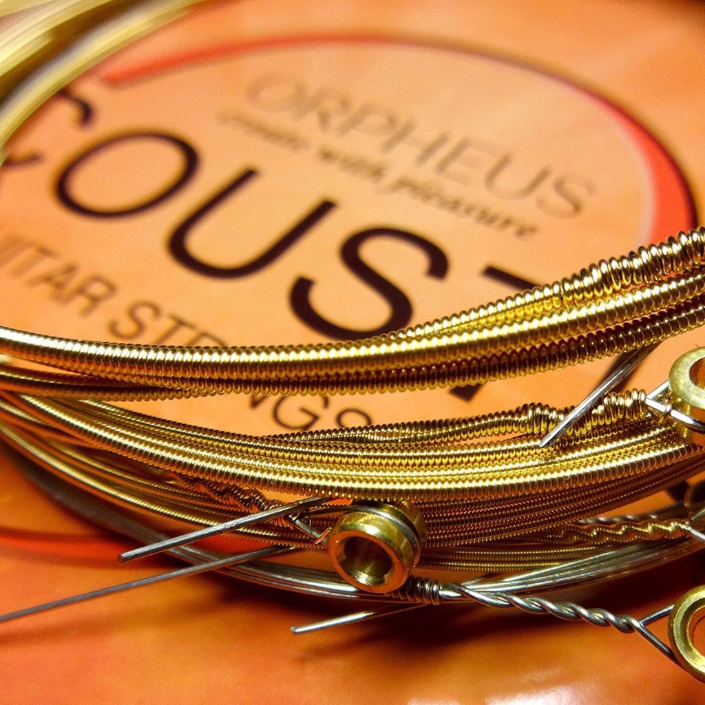Acoustic guitar strings Orpheus